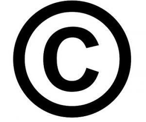 Raccourci clavier copyright