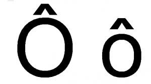 o-circonflexe-chapeau-majuscule-minuscule