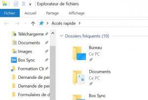 Ouvrir explorateur fichiers windows