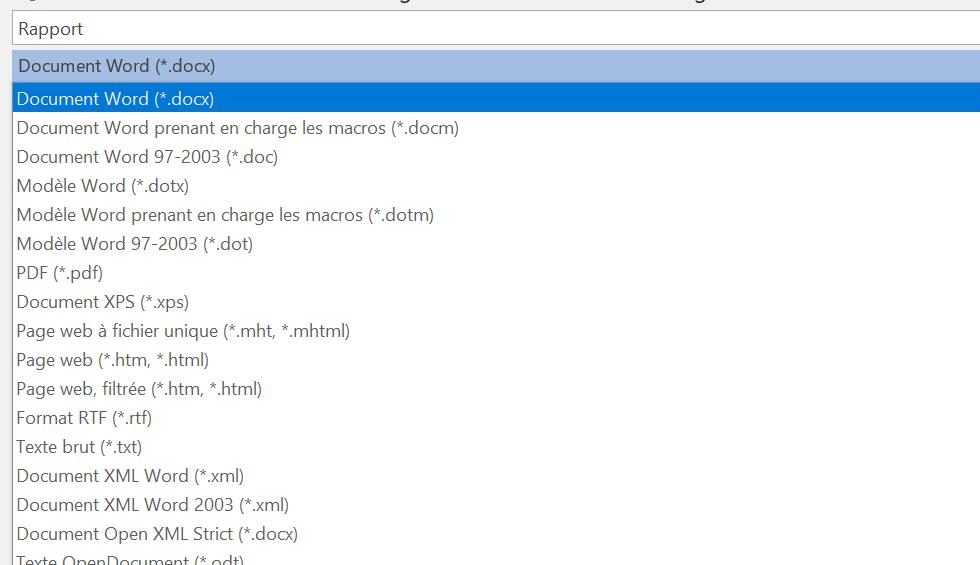 raccourci clavier  u0026quot enregistrer sous u0026quot