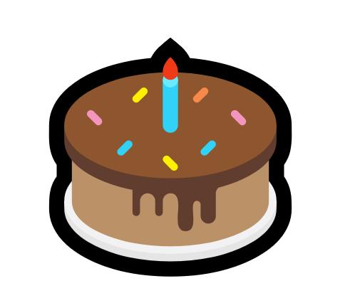 Emojis Pour Fêter Un Anniversaire Gâteau Cadeau Ou Ballon D